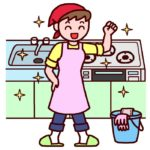 台所拭き掃除